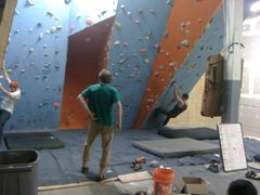 Rock Climbing Photo: Bouldering wall