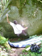 Rock Climbing Photo: Hitting the rail