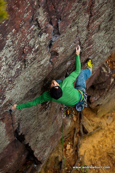 Rock Climbing Photo: Remo and the Climbing Magazine photo that made him...