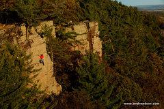 Rock Climbing Photo: Peter Vintoniv. Photo by Andrew Burr.