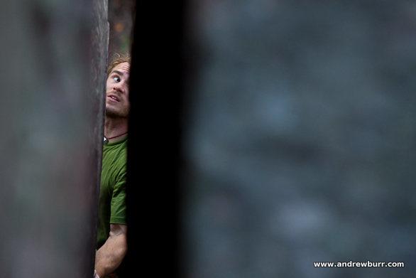 Rock Climbing Photo: Vinny, photo by Andrew Burr.
