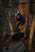 Rock Climbing Photo: DBB going into perigee