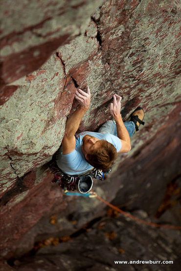 Rock Climbing Photo: Literally the second I heard my finger blow up. Ph...