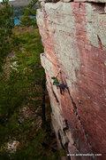 Rock Climbing Photo: Pete Vintoniv. Photo by Andrew Burr.