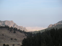 Rock Climbing Photo: Eldo from the West.