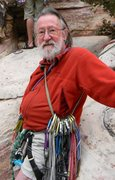 Rock Climbing Photo: John Reppy, age 80, 66 years after his first FA at...