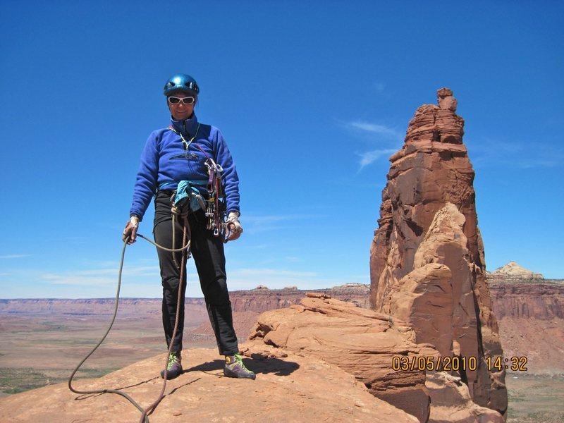 Rock Climbing Photo: On top, looking toward the Bridger Jack Towers - S...
