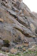 Rock Climbing Photo: All You Can Eat Cliff Far Right Topo