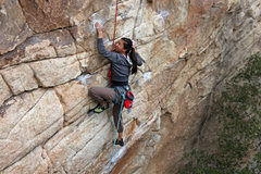 Rock Climbing Photo: TR send on Clean & Jerk [10c] Joshua Tree - Real H...