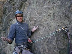 Rock Climbing Photo: Playin Hookey playin hard to get once again.