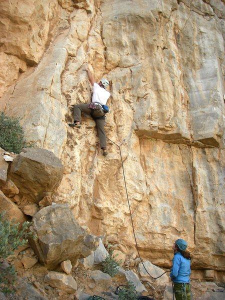 Rock Climbing Photo: Bolt 1 of 16.