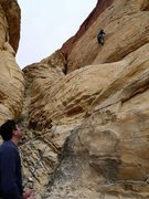 Rock Climbing Photo: First climb in Red Rock, can't wait to come back!