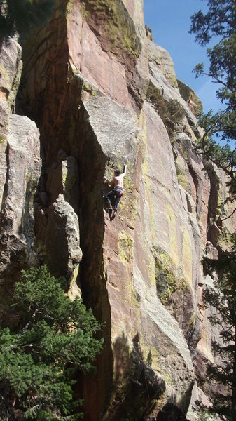 Rock Climbing Photo: Great climb....