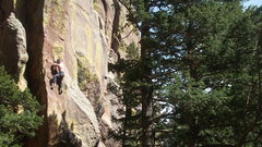 Rock Climbing Photo: Landscape view.