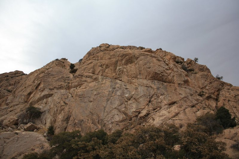 East Side of Cochise Strong Hold