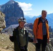 Rock Climbing Photo: 19 year old Joseph Henry Miller (2010), geared up ...