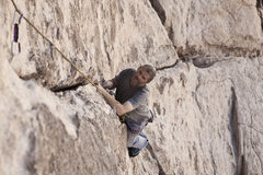 Rock Climbing Photo: Toprope on double dogleg