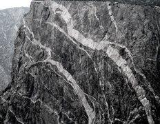 Rock Climbing Photo: Painted Wall