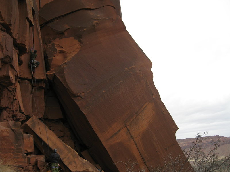 Rock Climbing Photo: Fun start.