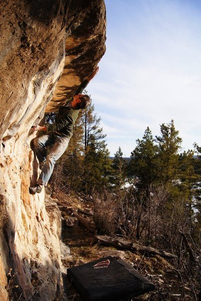 Rock Climbing Photo: Part of the Cove Wall, just to the right of Gone F...