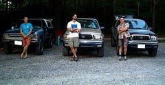 Rock Climbing Photo: At Hawksbill parking lot