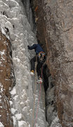 Rock Climbing Photo: Manky starts The Skylight-P1, 2011.