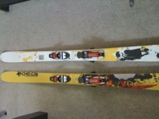 Rossignol Scratch BC with Dynastar Bindings PX14 Ti