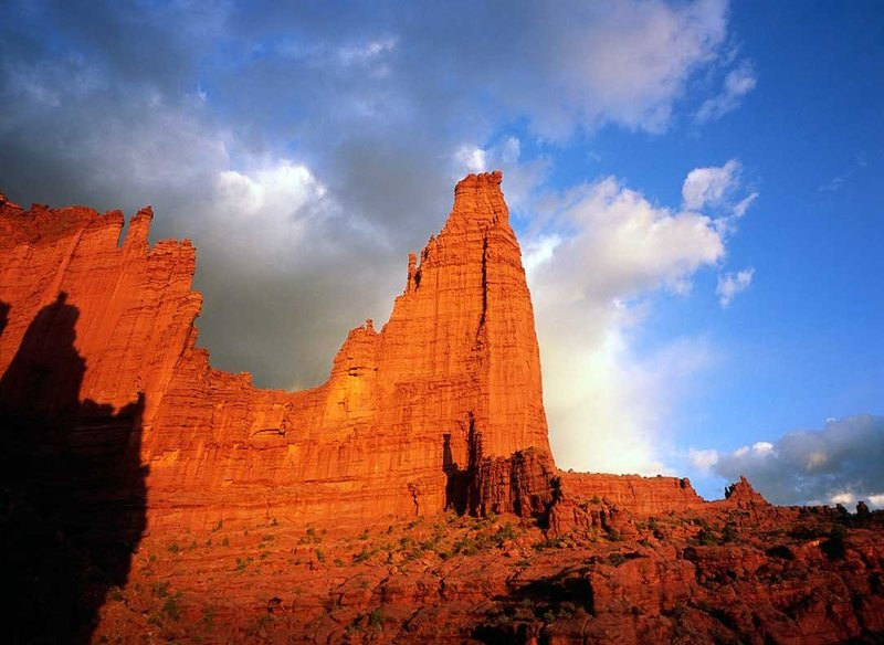 The Titan, Fisher Towers.