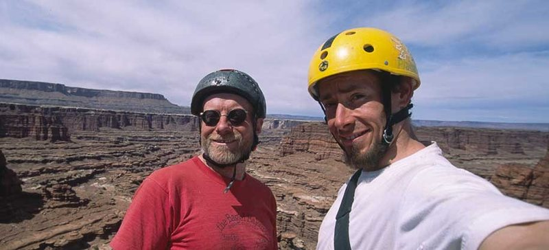 Me, Jonny Copp, Summit photo atop the Snout, Canyonlands