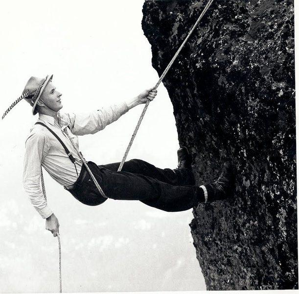 Rock Climbing Photo: dulfersitz
