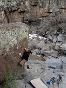 Rock Climbing Photo: Wade Forrest enjoying the super quality pocketed b...