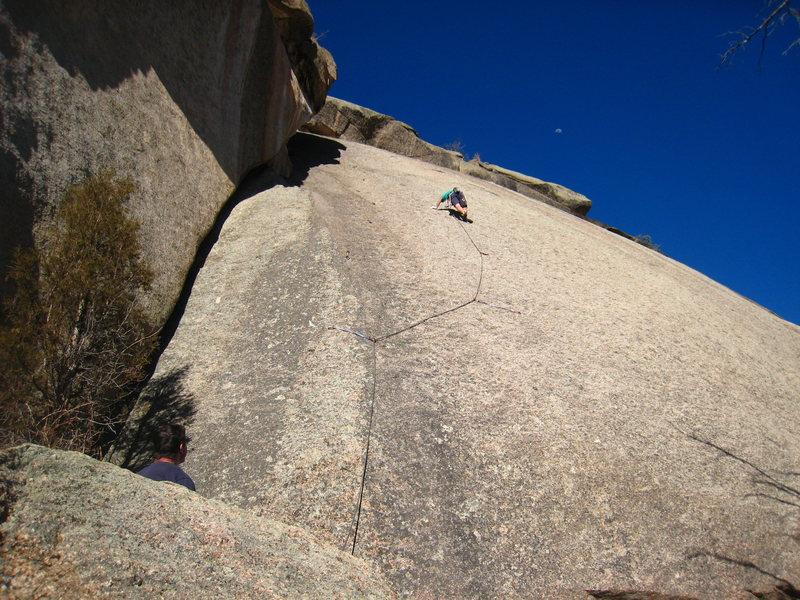 Rock Climbing Photo: Yep, that's a slab.