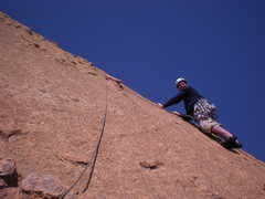"Rock Climbing Photo: just lassoed the ""huge solitary chickenhead,&..."
