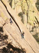 Rock Climbing Photo: Closer View of 2nd Pitch