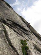 Rock Climbing Photo: LF corner of p6.