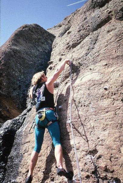 Rock Climbing Photo: man pris