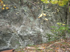 Rock Climbing Photo: Front face of Main Wall