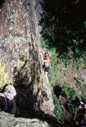 Rock Climbing Photo: gilman
