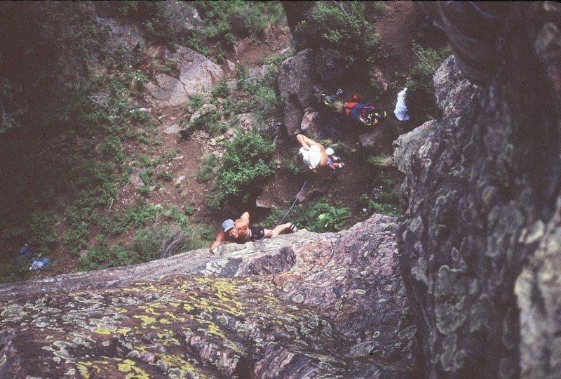 Rock Climbing Photo: attentive belay!