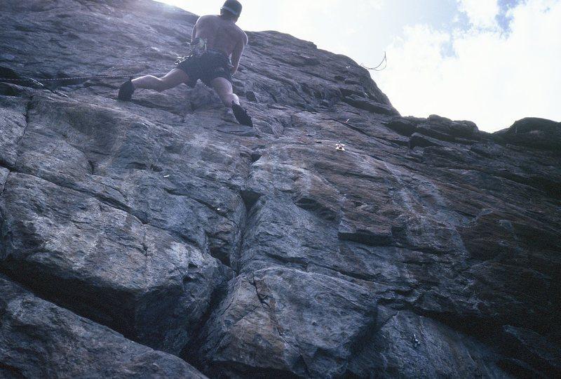 Rock Climbing Photo: gilman
