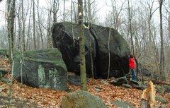 Rock Climbing Photo: book hill boulder