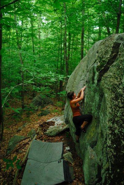 Rock Climbing Photo: the good earth
