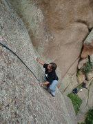 Rock Climbing Photo: Lin, 7-12-09.