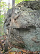 Rock Climbing Photo: Boulder near top.