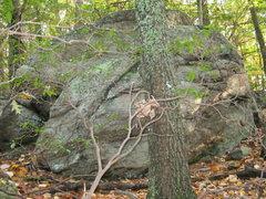 Rock Climbing Photo: boulder near top