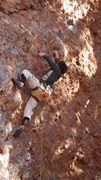 Rock Climbing Photo: Getting high on Crack Attack, El Rito NM