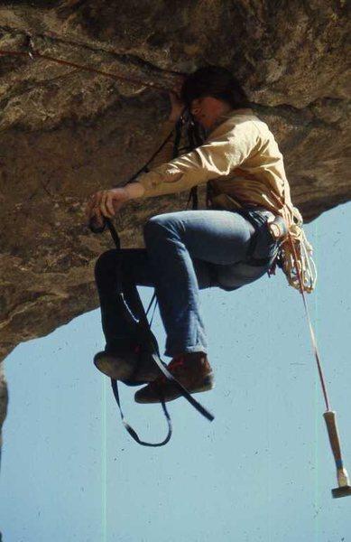Rock Climbing Photo: 1971 - Boulder Canyon
