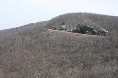 Rock Climbing Photo: View from near Dripping Rock Overlook