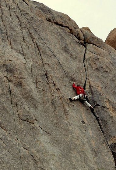 Rock Climbing Photo: breaking off from invisibility lessons and startin...