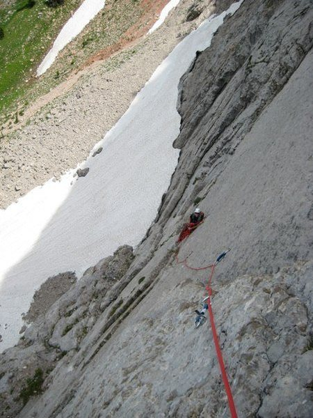 Rock Climbing Photo: The 4th pitch of The Fellowship